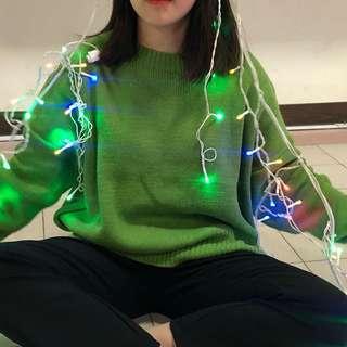 🚚 草綠色毛衣