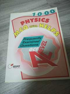 'A' Level Physics MCQ with Helps