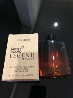 Mont Blanc Legend Night EDP 100ml Tester