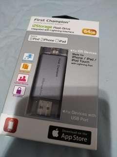 Band new iphone MFI 64 usb flash
