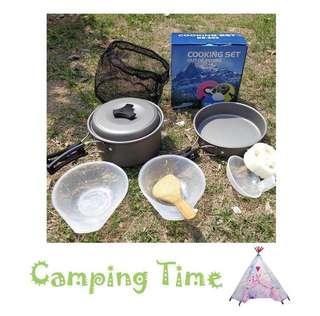 露營2-3人煮食器具 Camping cook set
