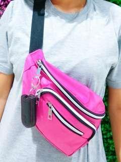 Waist bag pink