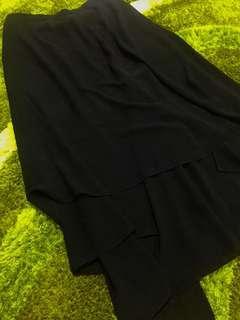 Long Black Skirt/Rok Hitam Panjang (Import)