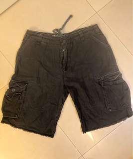 Billabong Cargo Shorts Big and Tall 特大 大尺碼 黑色百搭短褲 休閒短褲