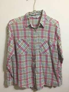 🚚 草莓酪梨🥑格紋襯衫 #十二月女裝半價