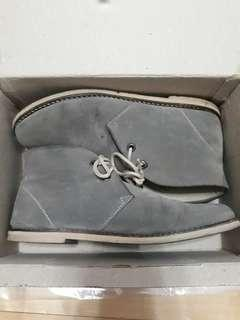 Grey Semi Boots