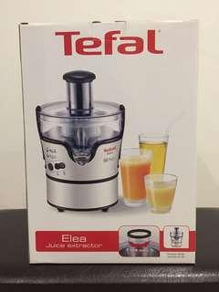 Unused Tefal juice extractor