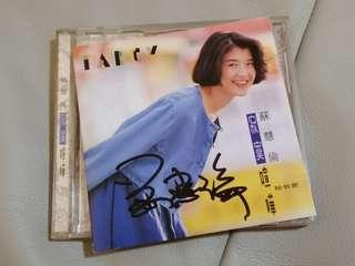 Chinese CD tarcy su hui lun autograph album 苏慧伦签名寂寞喧哗