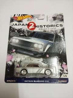 Hotwheels Datsun 510 JH 2