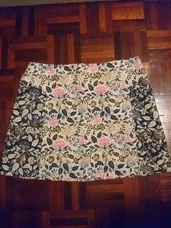 TOPSHOP Embroidered Skirt #XMAS50