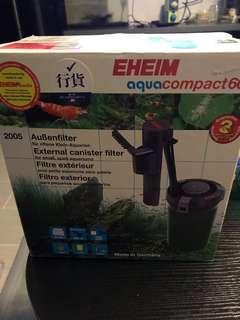 全新 Eheim Compact 60 瀘桶