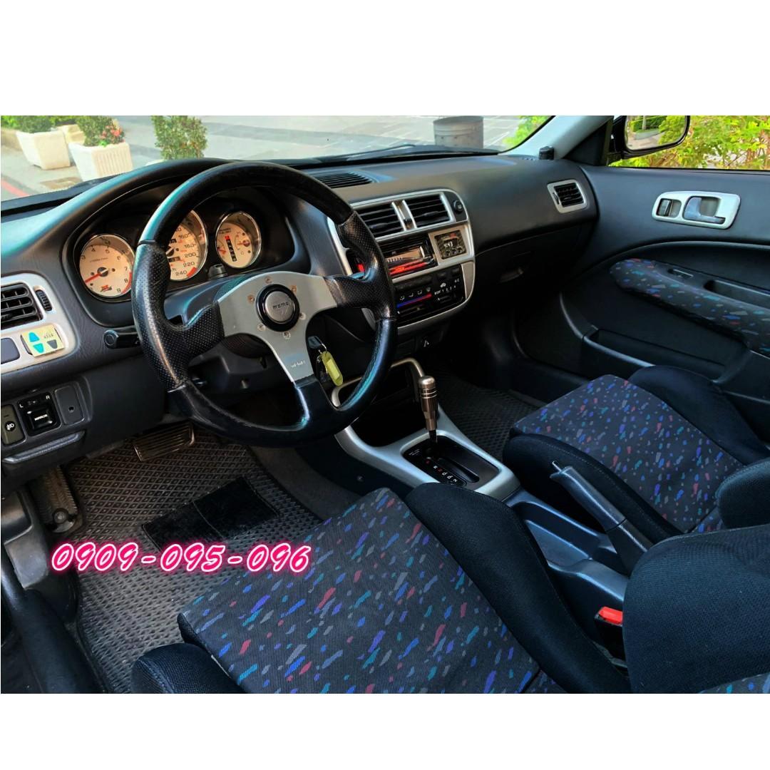 【 車子爆場了 要的開回去】 2000年 HONDA K8 三門  千禧年RECARO版內裝
