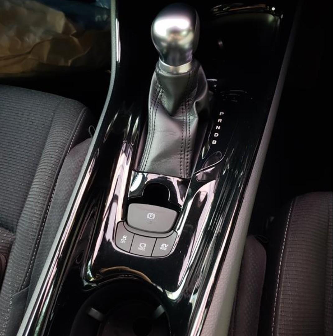 Toyota C Hr Piano Black Center Panel Car Accessories