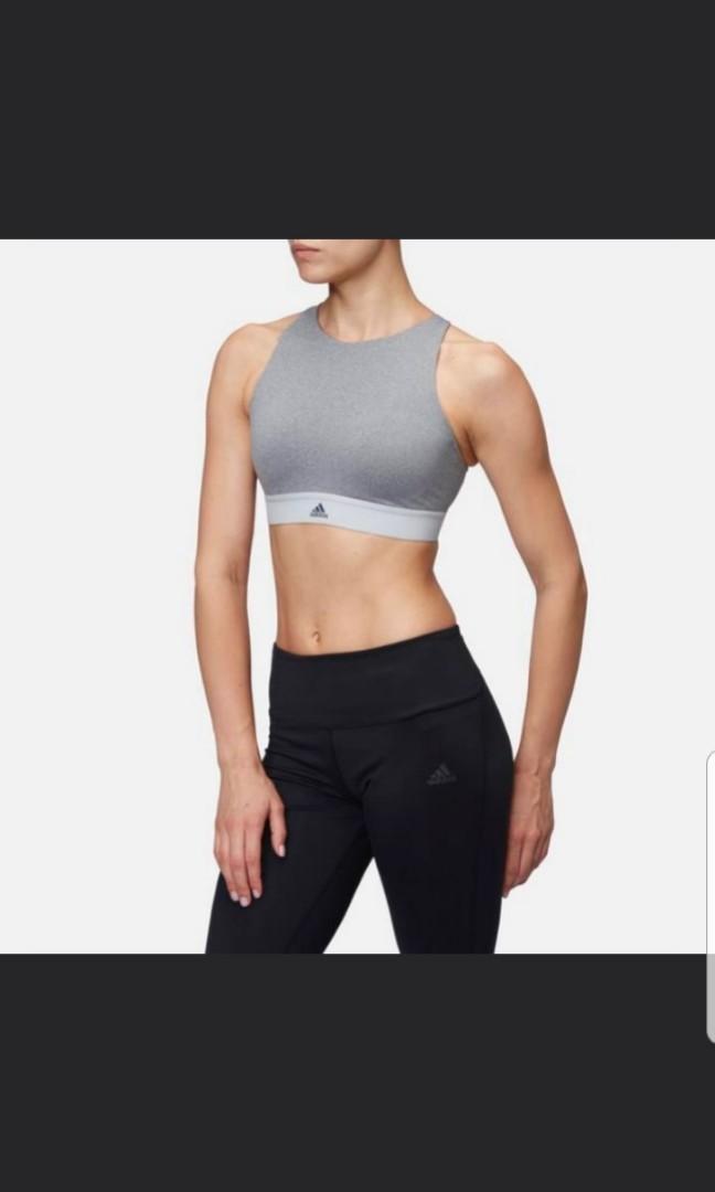 adidas crop top bra