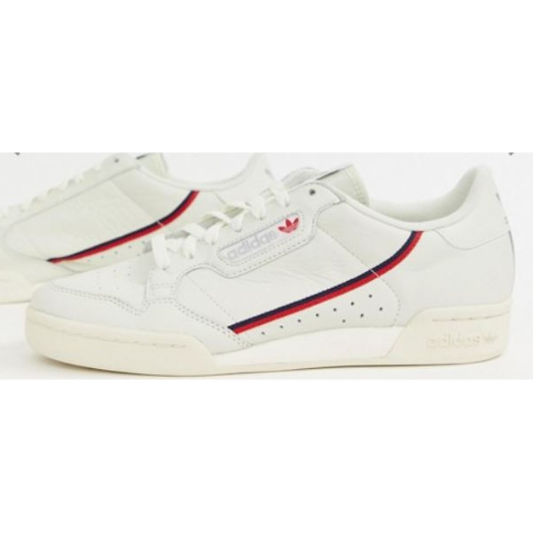 d09c37cb2caf0 adidas Originals Continental 80 s trainers in off white B41680 (UK ...