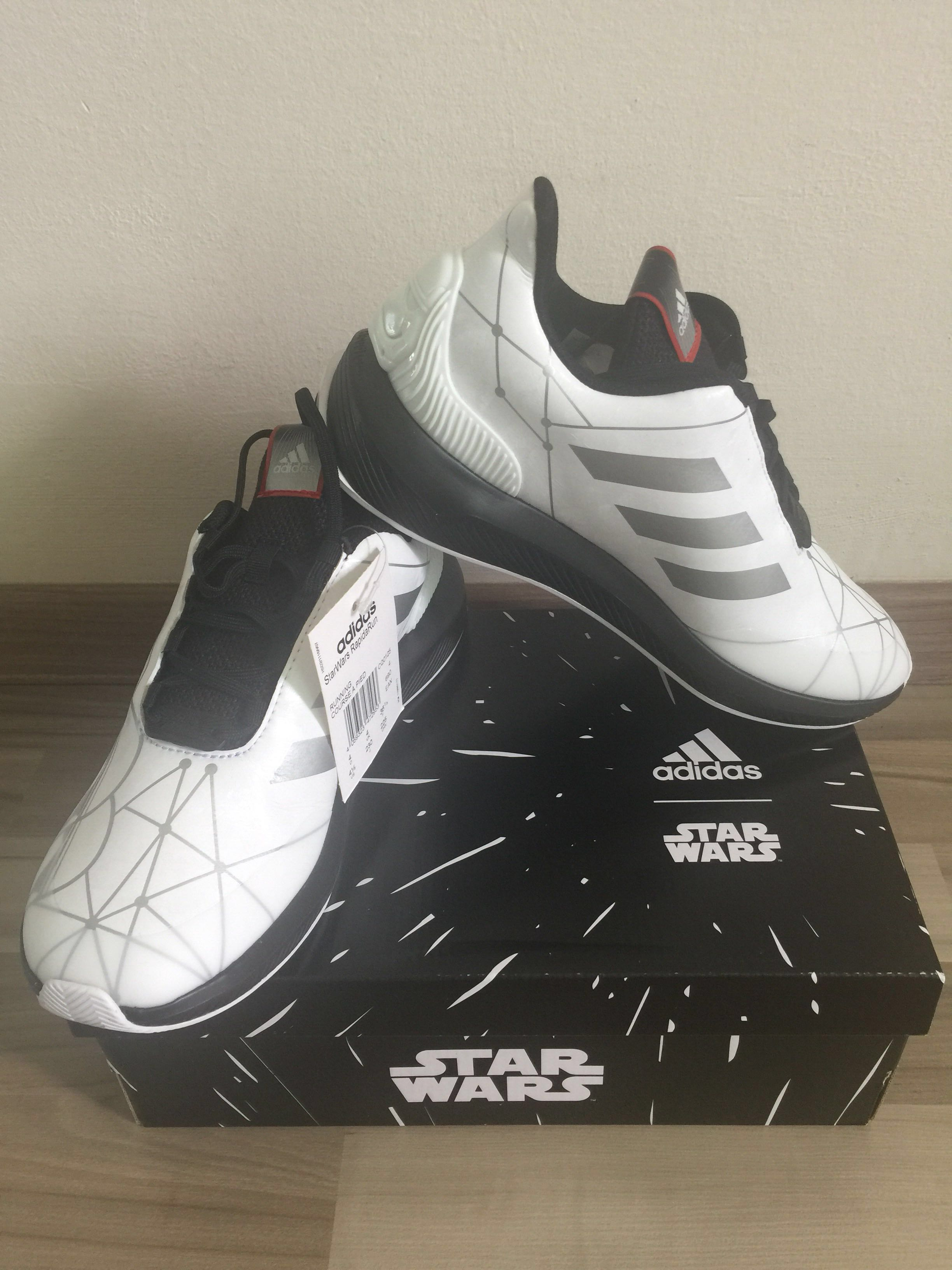 98a00913ce29 Adidas Star Wars Shoes in white
