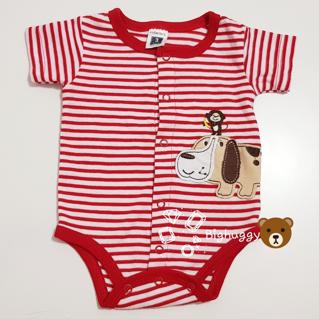 Authentic Carters Baby Romper New Babies Kids Babies Apparel On