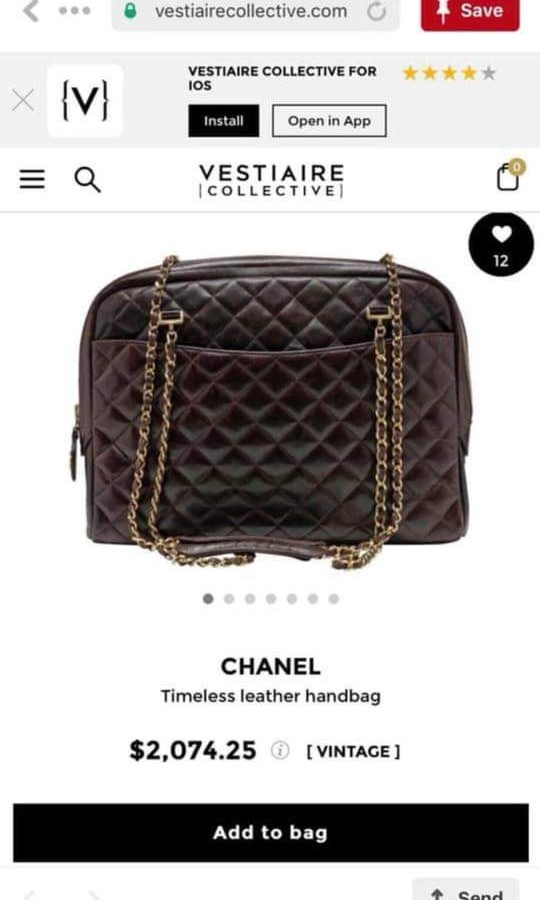a2b33368e8d0 Authentic Chanel Timeless Leather Handbag, Luxury, Bags & Wallets on ...