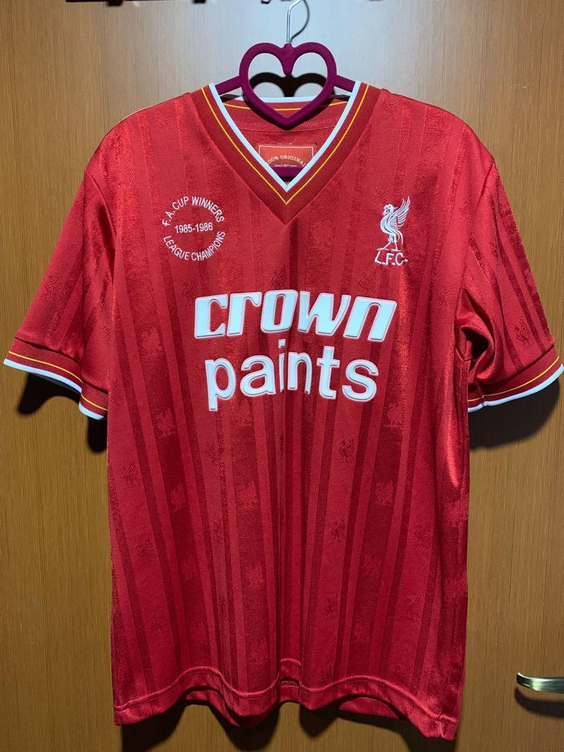 quality design 544d7 f395c Authentic Liverpool retro jersey, Sports, Sports Apparel on ...