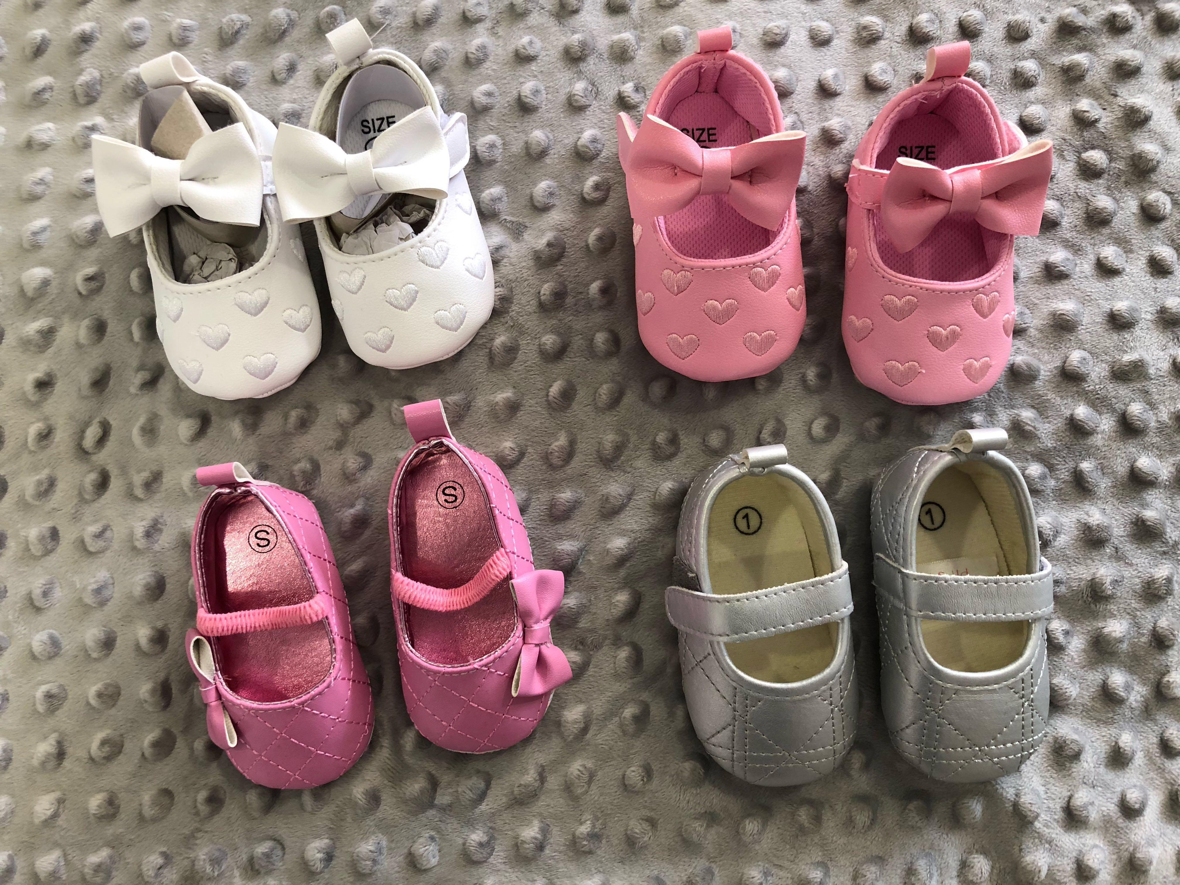 Baby Girl Shoes 0-6months old, Babies