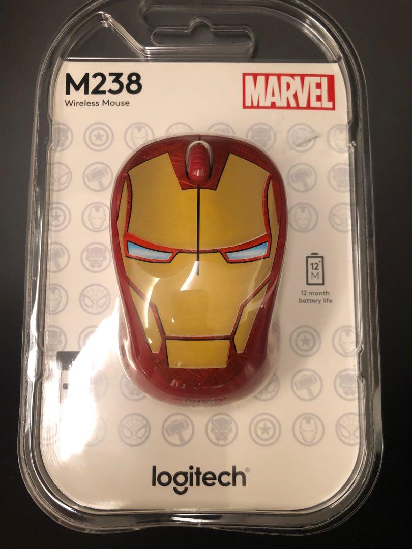 Brand new Logitech USB mouse  Iron Man, Electronics