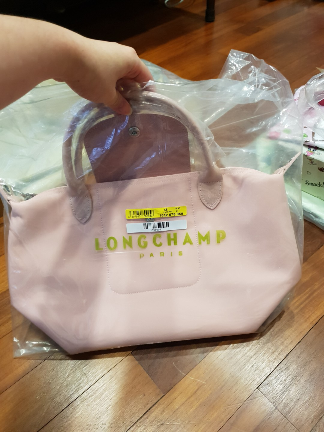 cf1bbb8d7171 Brand New Longchamp Neo Series Light Pink Small Size of 1512 model ...