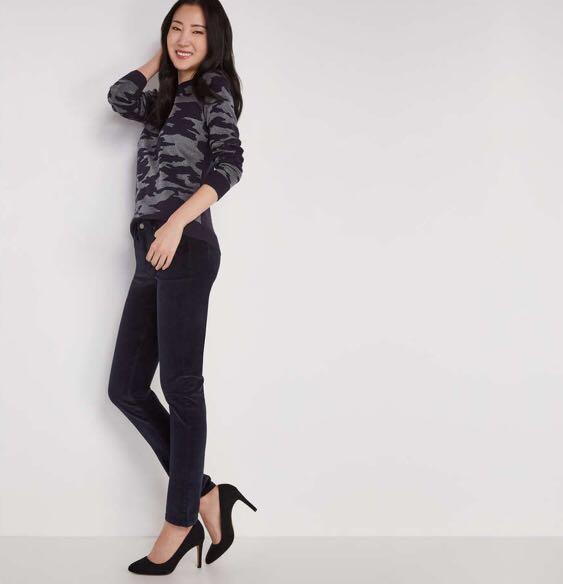 Brand new with tags joe fresh Slim Corduroy navy Pant