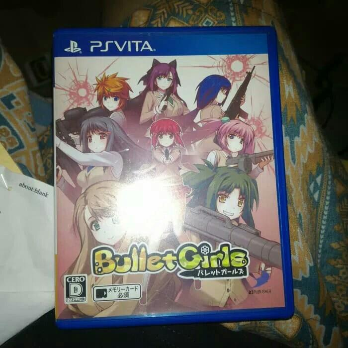 Bullet Girl ps vita, Video Gaming, Video Games on Carousell