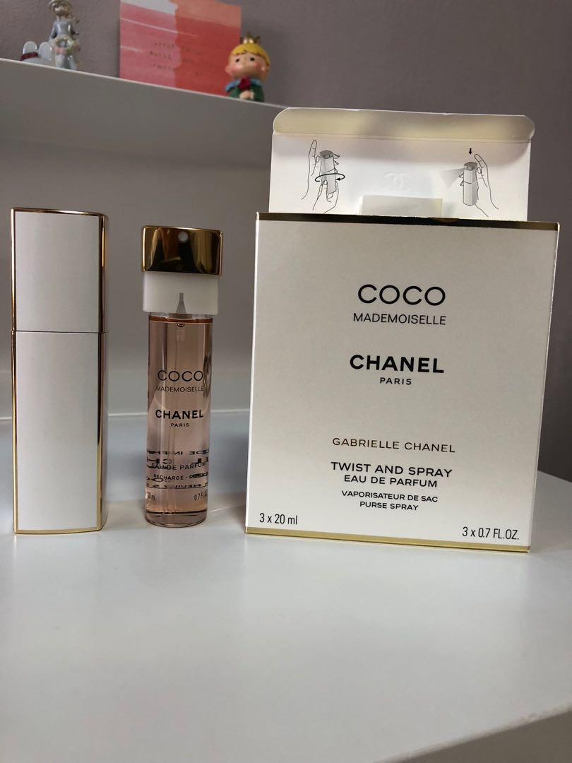 9c1a86ec3af93 Chanel COCO MADEMOISELLE EDP Twist and Spray