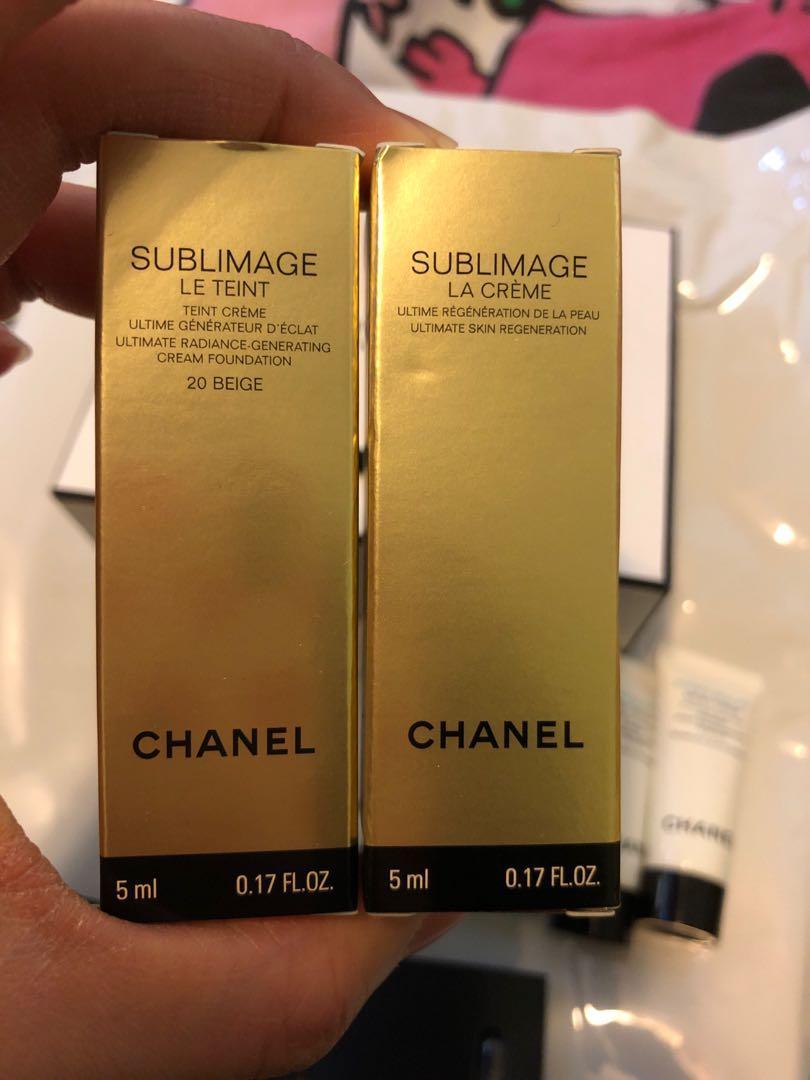 Chanel Skin care sample set (10 件)