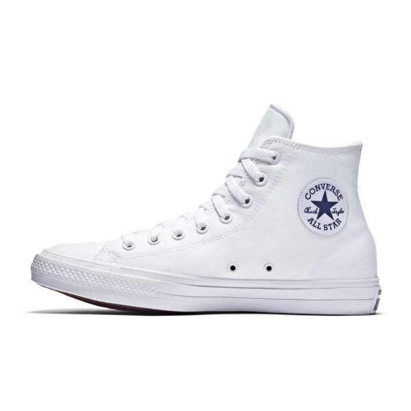 Converse Lunarlon White Sneakers