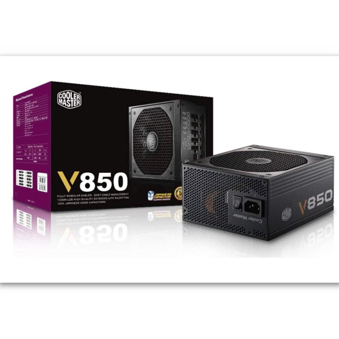 Cooler Master V850 Full Modular 80 Gold Certified 850w Power