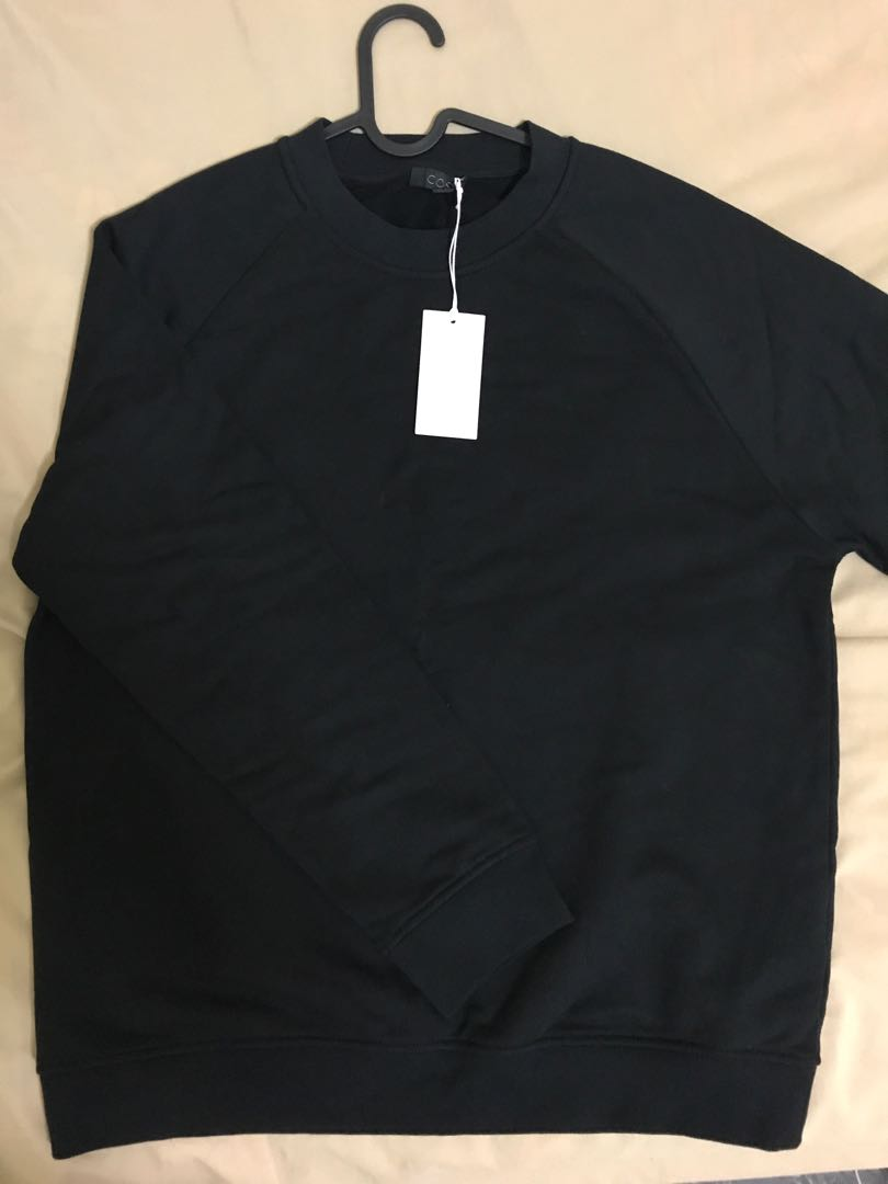 c9a755c50098 COS black sweater, Men's Fashion, Clothes, Tops on Carousell