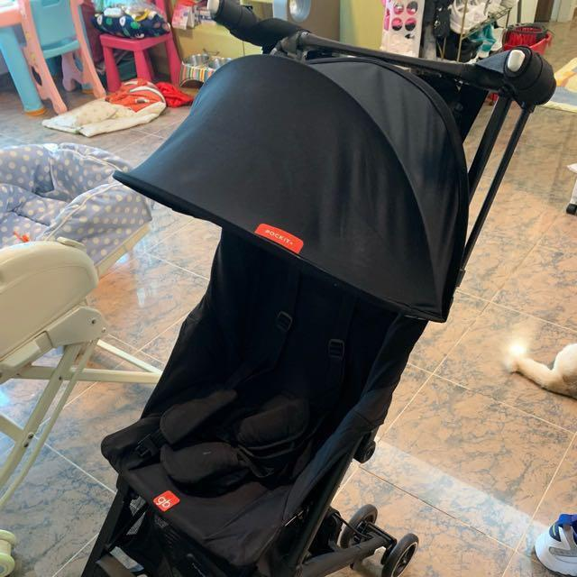 GB2018 pocket+ 新款 超細 嬰兒車