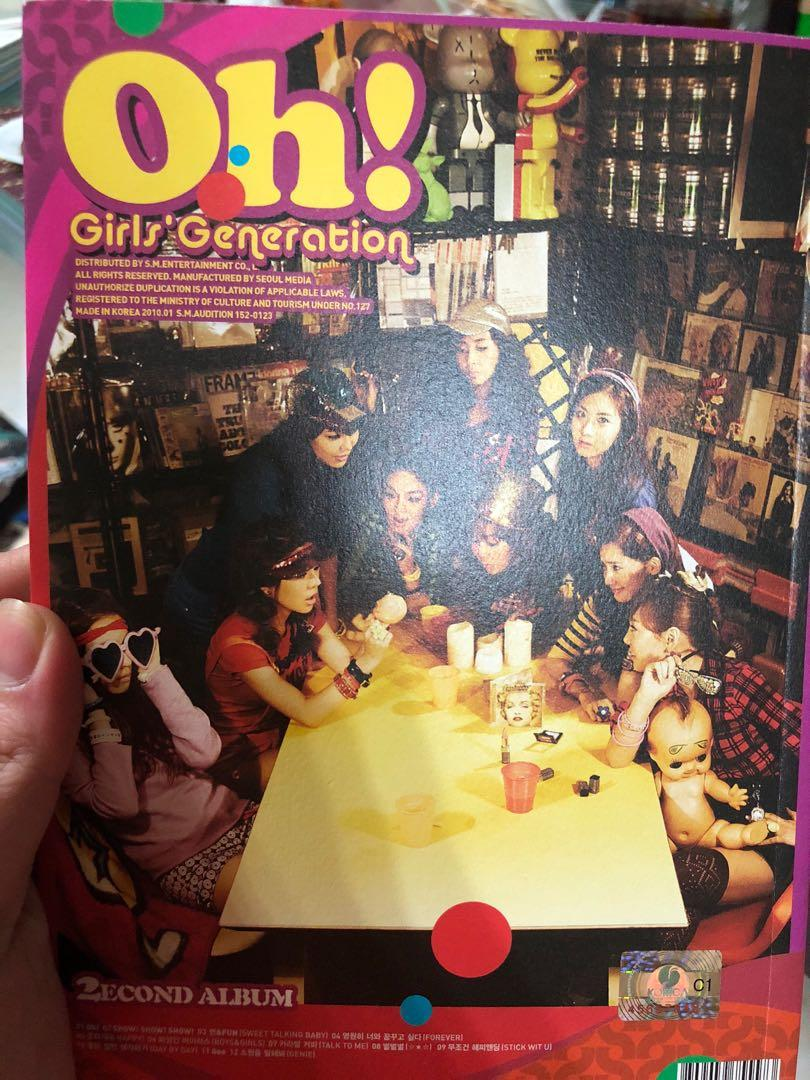 Girls' Generation/ SNSD Oh! Album