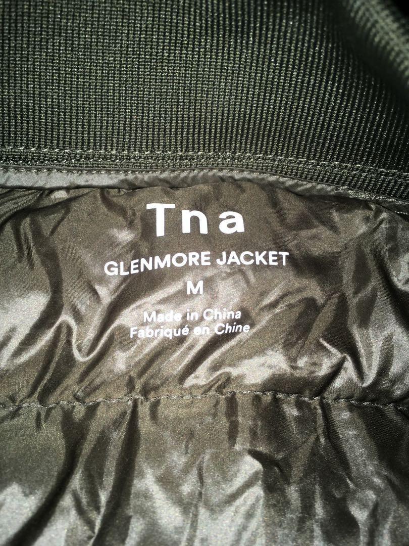 Green tna Glenmore bubble jacket