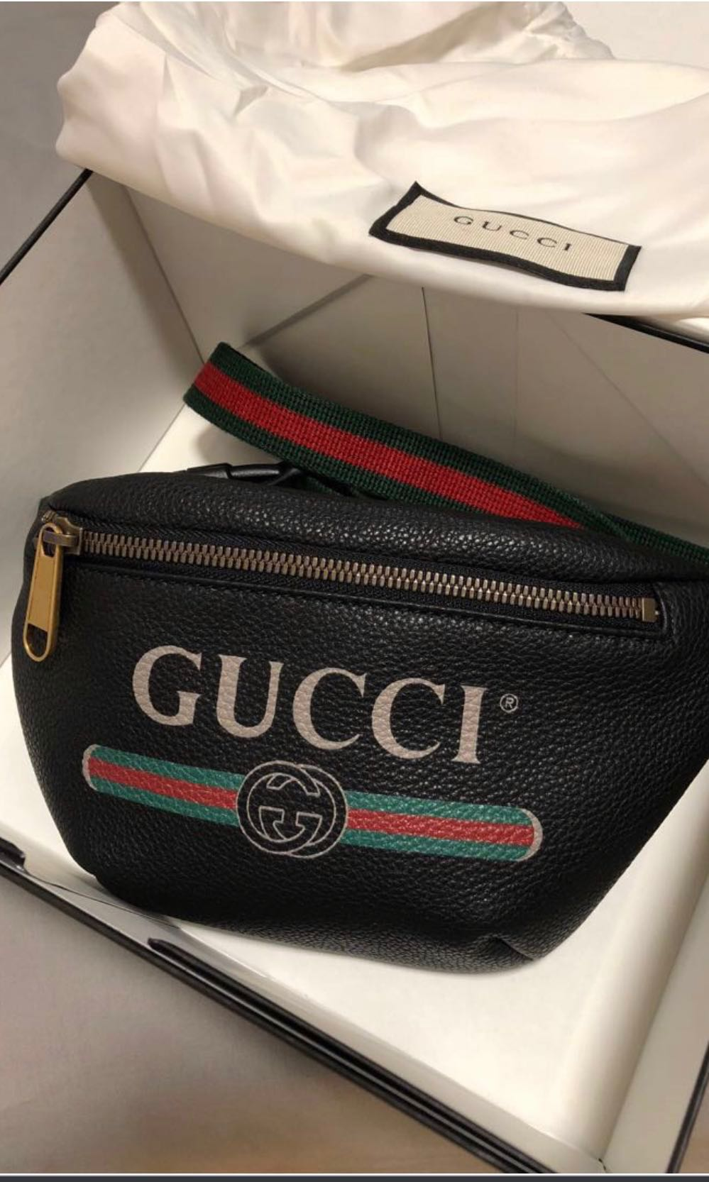 fc3452578538a Gucci Belt Waist Bag Small
