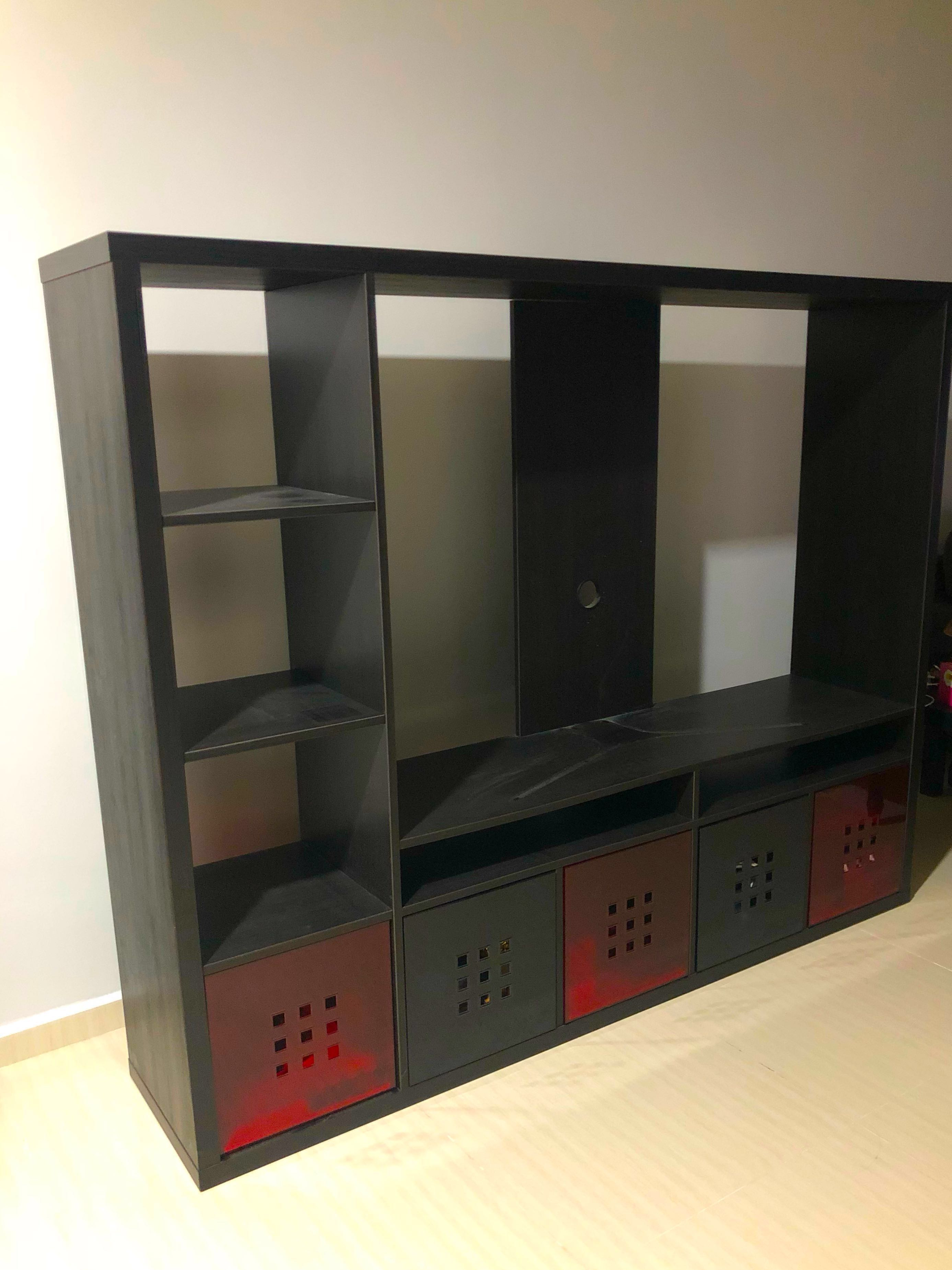 Ikea Lappland Tv Cabinet Furniture Shelves Drawers On Carousell