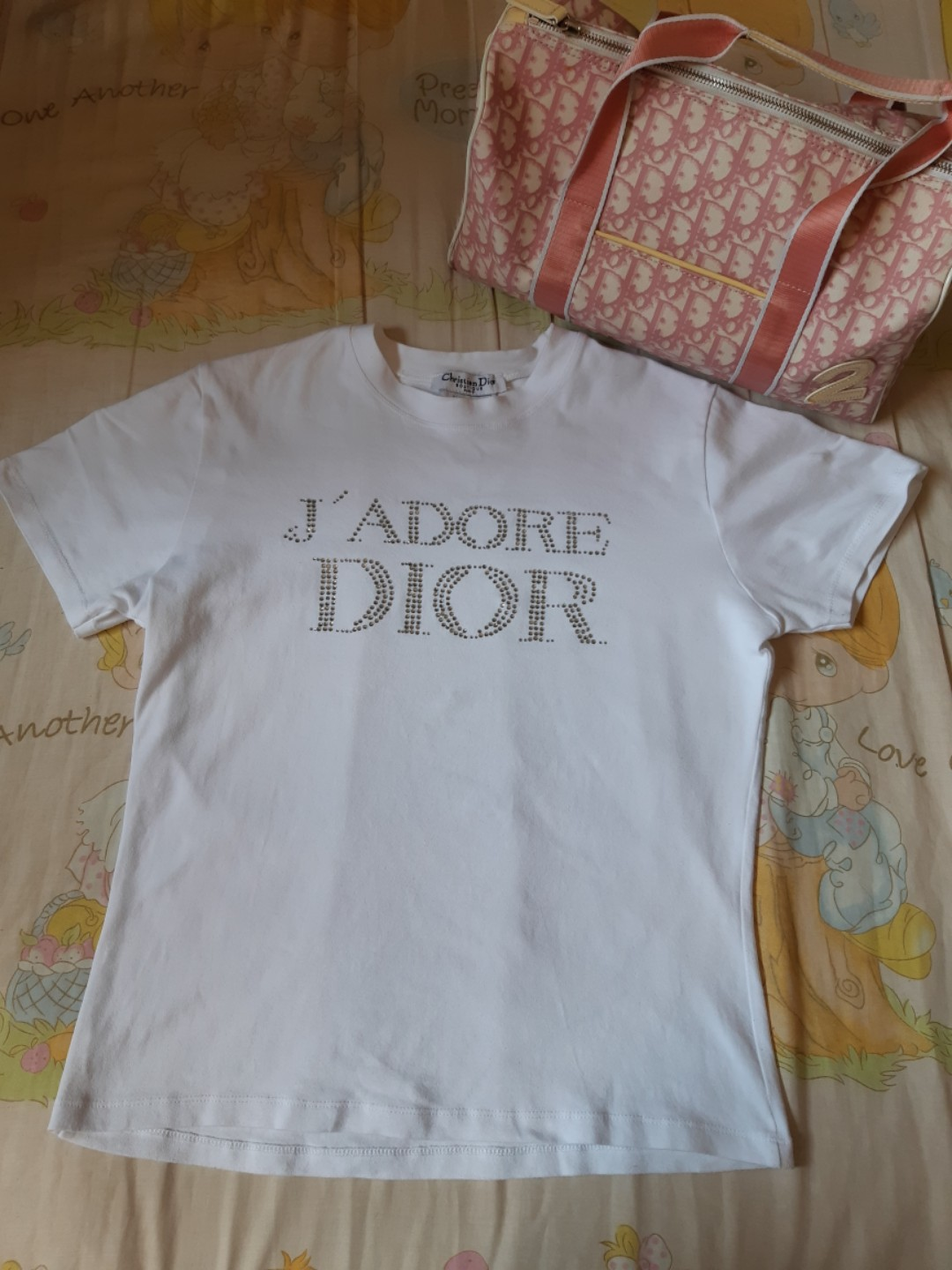 b861bf87 Jadore Dior White Top, Luxury, Apparel, Women's on Carousell
