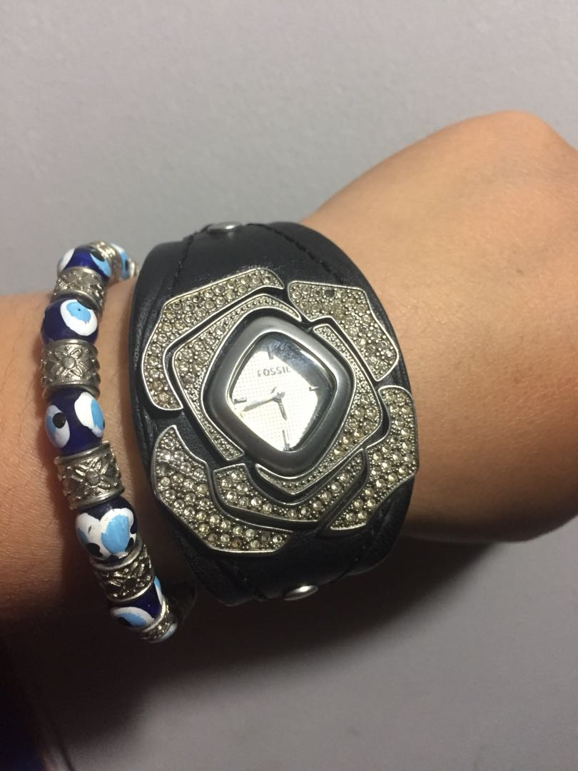 Jam Tangan Leather Fossil Ori, Women's Fashion, Women's Watches on Carousell