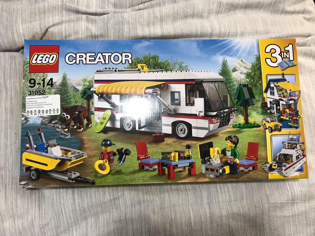 Lego Camper Van Creator Set 3 In 1 31052 Toys Games Bricks
