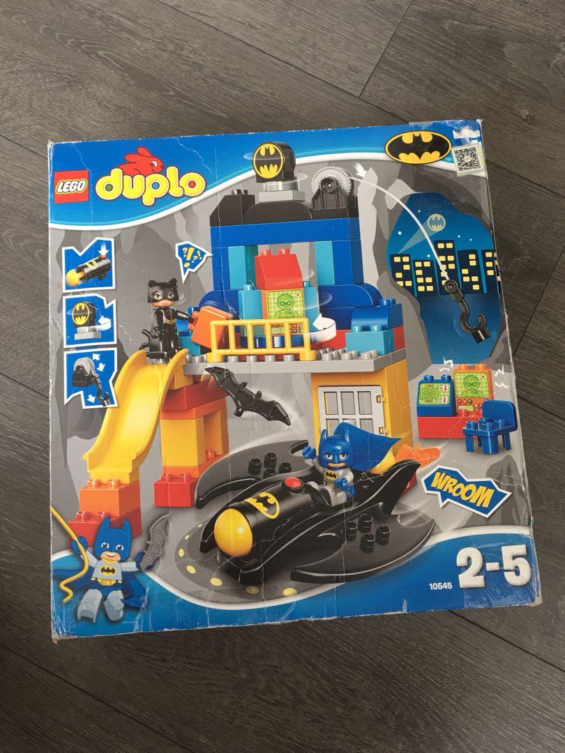 Lego Duplo Batman For 2 5 Years Old Toys Games Bricks