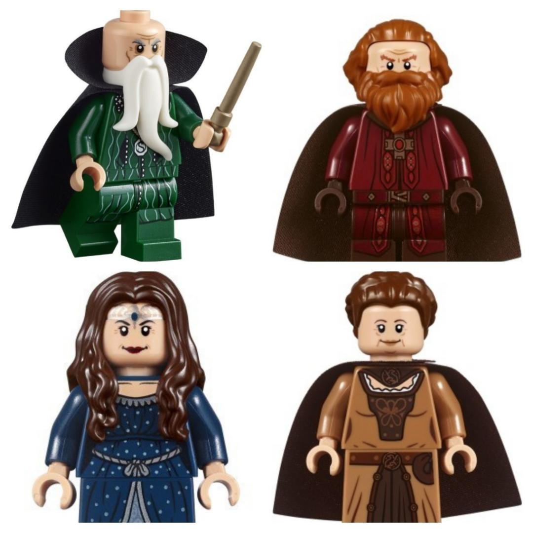 Lego Harry Potter Wizards Salazar Slytherin Godric Gryffindor