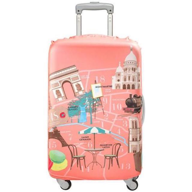 f65e7c6b4fbb Loqi Suitcase Cover Urban Paris