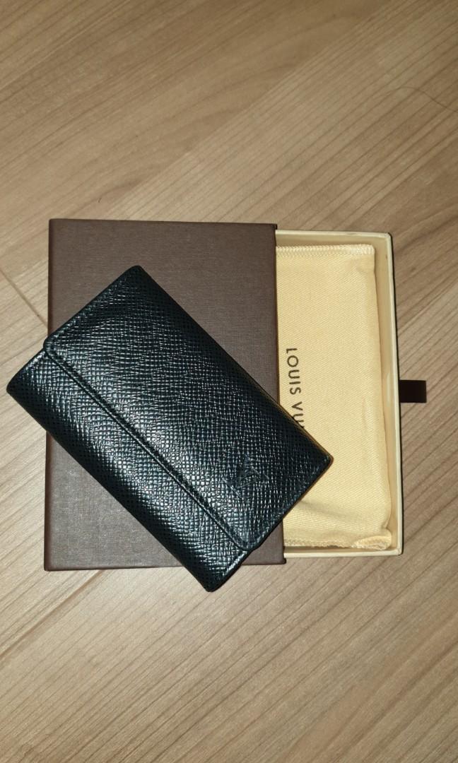 a77cb17aff04 Final Sale Louis Vuitton key leather keys holder