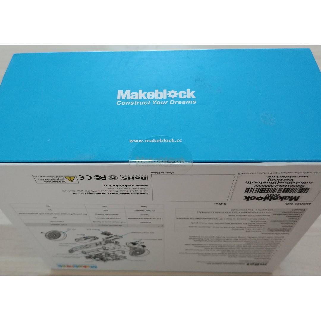 MakeBlock mBot Bluetooth version Education Robot kit Arduino SEALED FULL SET