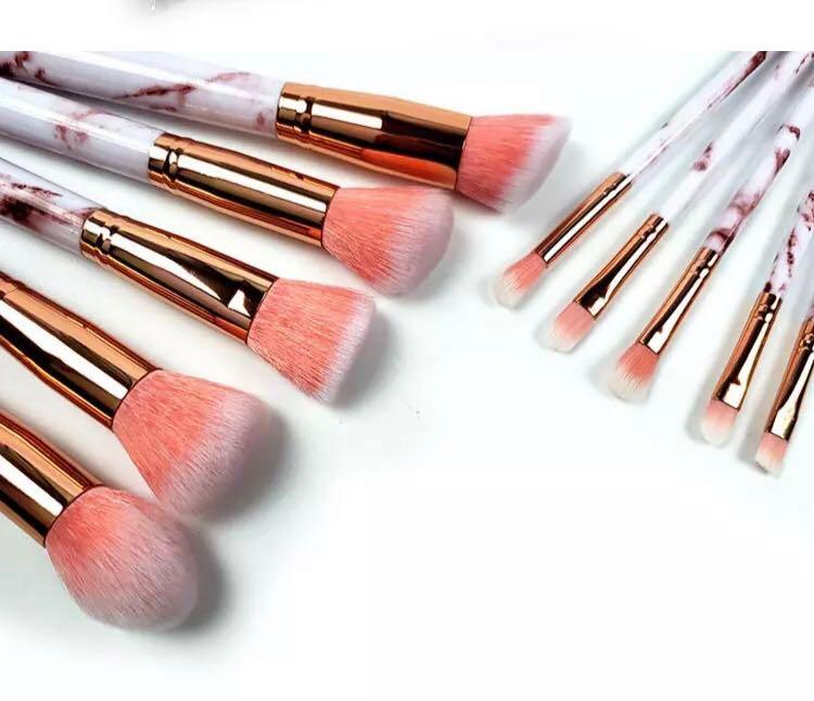 marble makeup brush set [ INSTOCK ]