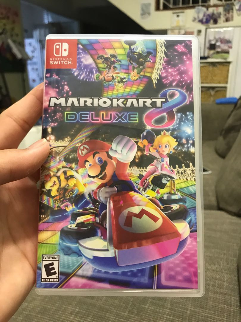 Video Games & Consoles Mario Kart Deluxe 8 Pokken Tournament Dx Mario Rabbids Kingdom Switch Cases Only