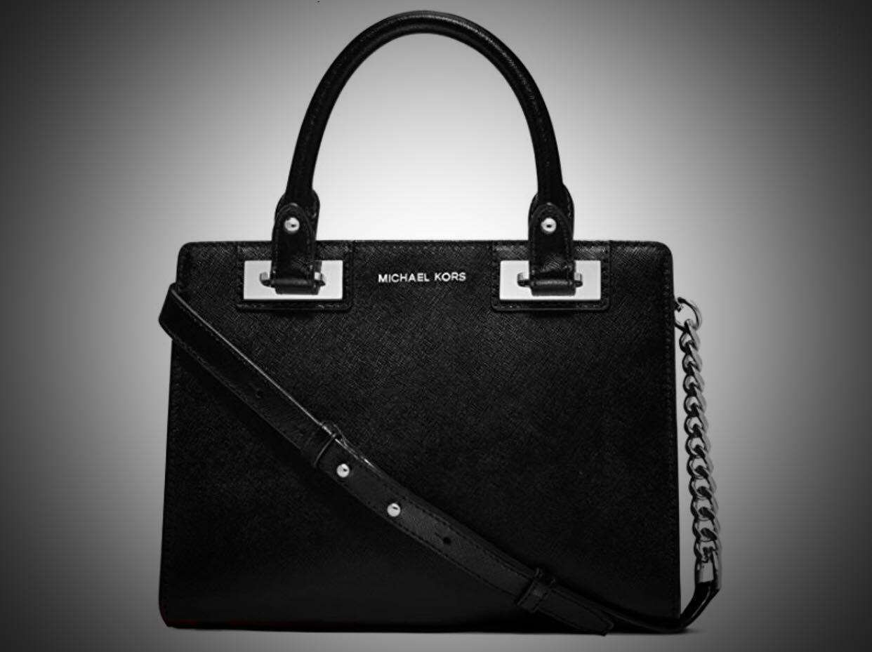 22a8127dd088 Michael Kors Quinn Medium Saffiano Leather Satchel Bag