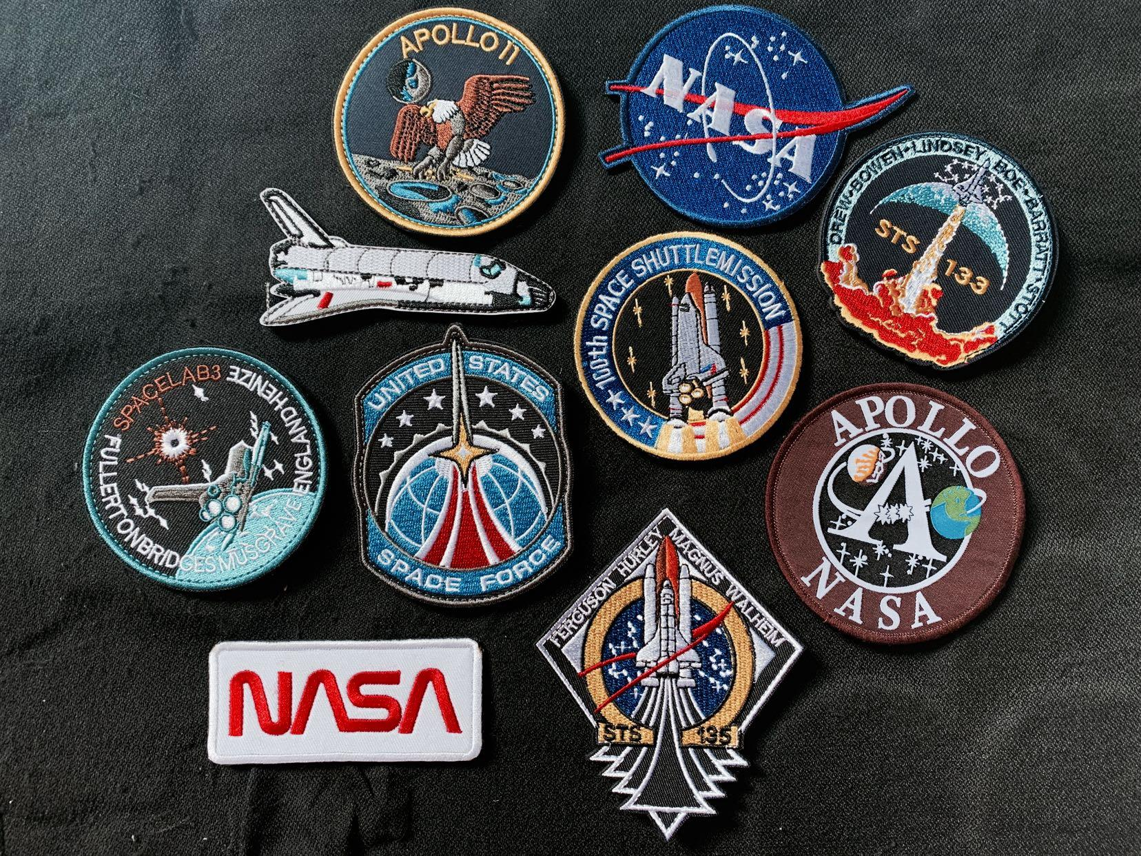 NASA collection velcro patch, Everything Else on Carousell